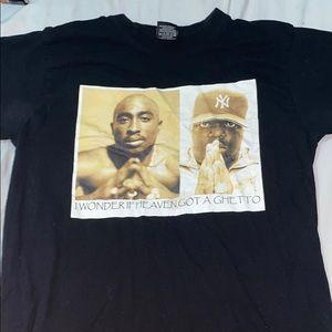 Tupac and biggie shirt